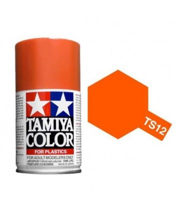 Bombe Peinture Tamiya  TS-12 Orange 100ml