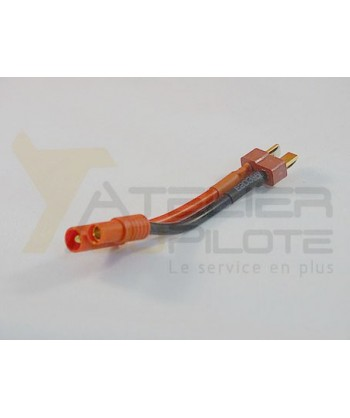Adaptateur Dean femelle or 3.5mm 14AWG