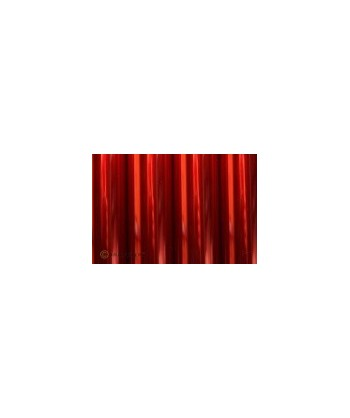 Oracover rouge transparent 1m